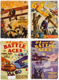 Pulps:Hero, G-8 and His Battle Aces Group of 10 (Popular, 1933-43) Condition: Average GD/VG.... (Total: 10 Items)