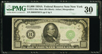 Fr. 2212-B $1,000 1934A Mule Federal Reserve Note. PMG Very Fine 30
