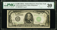 Fr. 2212-B $1,000 1934A Federal Reserve Note. PMG Very Fine 30