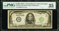 Fr. 2212-D $1,000 1934A Federal Reserve Note. PMG Choice Very Fine 35