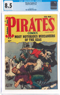 Pirates Comics #1 (Hillman Publications, 1950) CGC VF+ 8.5 Off-white to white pages