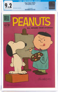 Silver Age (1956-1969):Humor, Four Color #1015 Peanuts (Dell, 1959) CGC NM- 9.2 Cream to off-white pages....