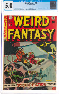 Weird Fantasy #14 (EC, 1952) CGC VG/FN 5.0 Off-white to white pages