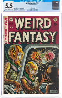 Weird Fantasy #16 (EC, 1952) CGC FN- 5.5 Cream to off-white pages