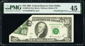 Error Notes:Foldovers, Printed Fold Error Fr. 2032-K $10 1995 Federal Reserve Note. PMG Choice Extremely Fine 45.. ...