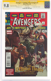 Avengers 1: Coming of the Avengers #1 El Capitan Theatre Edition - Signature Series: Stan Lee and John Romita Jr. (Marve...