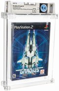 Video Games:Playstation, Gradius III and IV (Promotional Copy) - Wata 9.4 A Sealed [Sony Security Label], PS2 Konami 2000 USA. ...