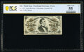 Fractional Currency:Third Issue, Fr. 1297 25¢ Third Issue PCGS Banknote About Unc 55 Details.. ...