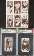 """Boxing Cards:General, 1938 W.A. & A.C. Churchman """"Boxing Personalities"""" Complete Set (50). ..."""
