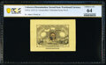 Fractional Currency:Second Issue, Milton 2E5F.2a 5¢ Second Issue PCGS Banknote Choice Unc 64.. ...