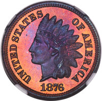 1876 1C PR67 Red and Brown NGC....(PCGS# 2316)