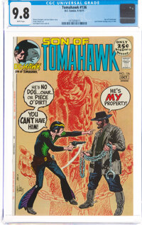 Tomahawk #136 (DC, 1971) CGC NM/MT 9.8 White pages