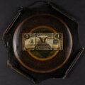 Miscellaneous:Other, Black Eagle Trompe L'Oeil Oil Painting on Tin.. ...