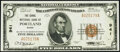 National Bank Notes:Maine, Portland, ME - $5 1929 Ty. 1 The Canal National Bank Ch. # 941 Extremely Fine-About Uncirculated.. ...