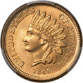 1860 1C Pointed Bust, FS-401, MS66+ PCGS....(PCGS# 37393)