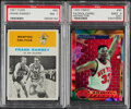 """Basketball Cards:Unopened Packs/Display Boxes, 1961 Fleer Frank Ramsey """"In Action"""" & 1993 Finest Refractor Patrick Ewing PSA Graded Pair (2)...."""