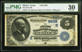 Shiner, TX - $5 1882 Date Back Fr. 537 The First National Bank Ch. # (S)5628 PMG Very Fine 30.<