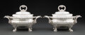 Silver & Vertu, A Rare Pair of Paul Storr Silver Sauce Tureens, London, 1822. Marks to each: (lion passant), (leopard's head), (duty mark), ... (Total: 2 )