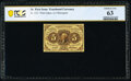 Fractional Currency:First Issue, Fr. 1231 5¢ First Issue PCGS Banknote Choice Unc 63.. ...