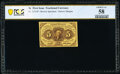 Fractional Currency:First Issue, Fr. 1231SP 5¢ First Issue PCGS Banknote Choice AU 58.. ...