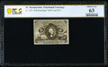 Fractional Currency:Second Issue, Fr. 1235 5¢ Second Issue PCGS Banknote Choice Unc 63.. ...