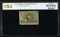 Fr. 1284 25¢ Second Issue PCGS Banknote Choice AU 58 PPQ