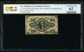 Fractional Currency:Third Issue, Fr. 1254SP 10¢ Third Issue PCGS Banknote Uncirculated 62.. ...
