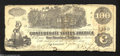 Confederate Notes:1862 Issues, T39 $100 1862. J.T. Paterson printed this Straight Steam ...