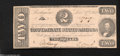 Confederate Notes:1862 Issues, T54 $2 1862. This $2 was able to evade circulation, ...