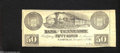 Obsoletes By State:Ohio, Nashville, TN- Bank of Tennessee 50¢ Dec. 1, 1861