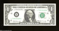 Error Notes:Blank Reverse (<100%), Fr. 1905-L $1 1969-B Federal Reserve Note. Choice Crisp ...