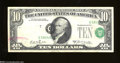 Error Notes:Shifted Third Printing, Fr. 2019-G $10 1969-A Federal Reserve Note. Very Fine. A ...