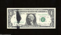 Error Notes:Ink Smears, Fr. 1907-C $1 1969-D Federal Reserve Note. Gem Crisp ...