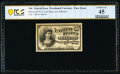 Fractional Currency:Fourth Issue, Milton 4E10F.2 10¢ Fourth Issue Essay PCGS Banknote Choice XF 45.. ...
