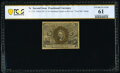 Fractional Currency:Second Issue, Fr. 1232 5¢ Second Issue Treasury Department Rectangle PCGS Banknote Uncirculated 61.. ...