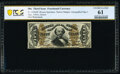 Fractional Currency:Third Issue, Fr. 1330aSP 50¢ Third Issue Spinner Narrow Margin Face PCGS Banknote Uncirculated 61.. ...