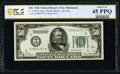 Fr. 2100-E* $50 1928 Federal Reserve Star Note. PCGS Banknote Choice XF 45 PPQ
