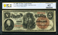 Large Size:Legal Tender Notes, Fr. 70 $5 1880 Legal Tender PCGS Banknote Uncirculated 62.. ...