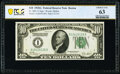 Fr. 2001-A $10 1928A Federal Reserve Note. PCGS Banknote Choice Unc 63
