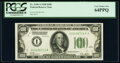 Fr. 2150-A $100 1928 Federal Reserve Note. PCGS Very Choice New 64PPQ