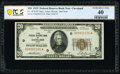Small Size:Federal Reserve Bank Notes, Fr. 1870-D* $20 1929 Federal Reserve Bank Star Note. PCGS Banknote Extremely Fine 40.. ...