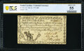 Colonial Notes:South Carolina, South Carolina February 8, 1779 $60 PCGS Banknote About Unc 55.. ...