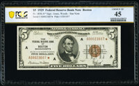 Fr. 1850-A* $5 1929 Federal Reserve Bank Star Note. PCGS Banknote Choice XF 45