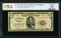Fr. 1850-I* $5 1929 Federal Reserve Bank Note. PCGS Banknote Choice Fine 15