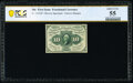 Fractional Currency:First Issue, Fr. 1243SP 10¢ First Issue Narrow Margin Face PCGS Banknote About Unc 55.. ...