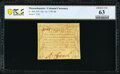 Colonial Notes:Massachusetts, Massachusetts October 16, 1778 9d PCGS Banknote Choice Unc 63.. ...