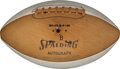 Football Collectibles:Balls, 1968 New York Jets Team Signed Football - Rarely Seen on Vintage Football....