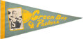Football Collectibles:Others, 1960's Bart Starr Green Bay Packers Photo Pennant....