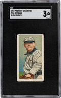 Baseball Cards:Singles (Pre-1930), 1909-11 T206 Piedmont Cy Young (Glove Shows) SGC VG 3. ...