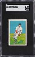 Baseball Cards:Singles (Pre-1930), 1911-14 D304 Brunners Bread Christy Mathewson SGC EX/NM 6 - Pop Two, None Higher. ...